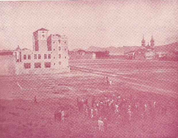 A Associação Cristã de Moços, prédio pioneiro na Esplanada do Castelo no Rio.