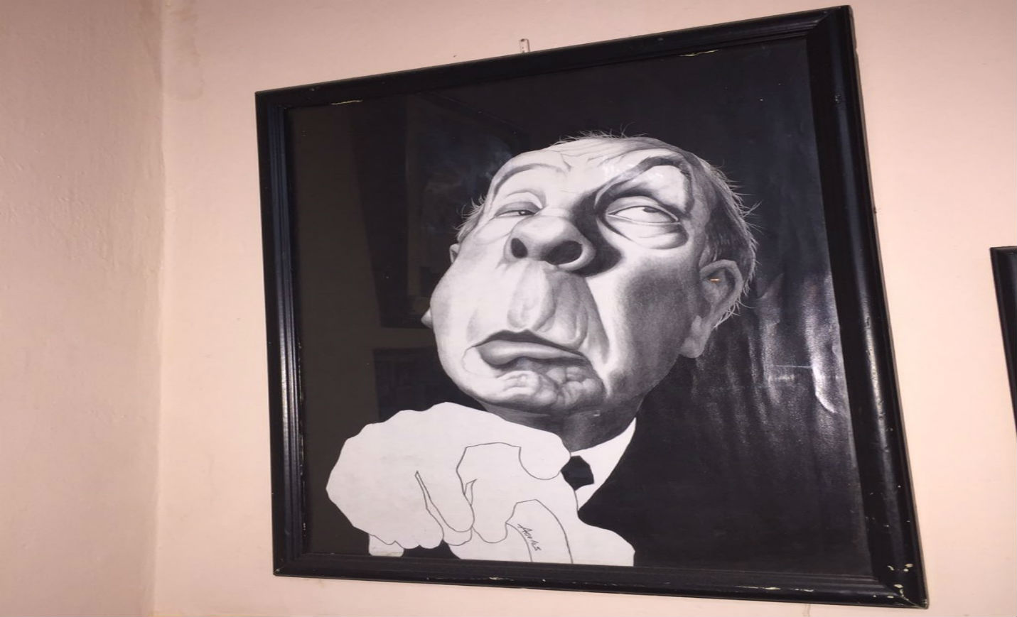 Jorge Luis Borges, escritor argentino.